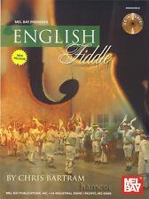 ENGLISH VIOLINO da Chris BARTRAM VIOLINO FOLK SPARTITI MUSICALI LIBRO/CD