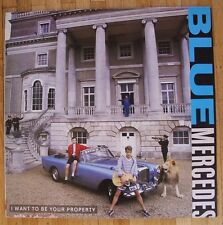 """BLUE MERCEDES I Want To Be Your Property 12""""-Maxi/GER"""