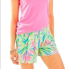 LILLY PULITZER Kat Shorts Tiki  Pink Size S