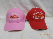 Orange County Choppers New York OCC Ball Cap 1 Red + 1 Pink His & Hers