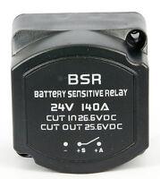 Vollautomatisches Batterietrennrelais 24V/140A,Anzug-/Abfallspannung:26,6V/25,6V