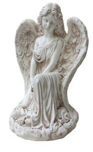 Kneeling Angel Statue Ornament sculpture figurine Home Garden Decor Outdoor 52cm