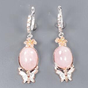 Jewelry Earrings Morganite Earrings Silver 925 Sterling   /E56658