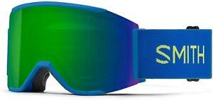 Smith Squad MAG Snow Goggle Electric Blue / ChromaPop Sun Green Mirror