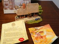Lilliput Lane Rosengartenhaus 1992 Boxed With Deeds