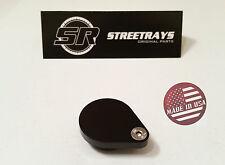 StreetRays EGR TUBE PLUG INTAKE BLOCK OFF Plate LS L33 LQ4 LSX Silverado (BLACK)