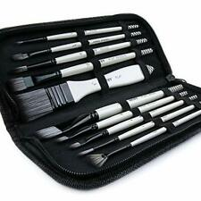 ARTIFY 10 Pcs Paint Brush Set Includes a Carrying Case, Synthetic Hair Brushes