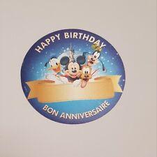 Disneyland Paris - Sticker Joyeux Anniversaire