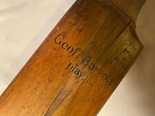 New listing antique cricket bat mallet England