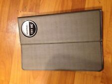 """B56 reversible 6"""" by 9"""" grey and black tablet case"""