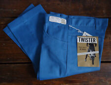 NOS VTG 60s MOD DEADSTOCK TAPERED TWISTER BOYS TEEN  JEANS PANTS 27x27 RAB USA