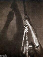 """Héliogravure - 1925 -        """" Le sonneur  -  A. et E. Chavepeyer """""""