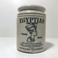 Egyptian Ointment Pot From Victorian Keillers Marmalade Jar Nefertiti