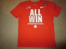 Clemson Tigers 2017 College Football Playoff Locker Room Nike Shirt LG L NEW