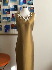 NWOT J. Crew Collection Iridescent Gold Dress Size 6