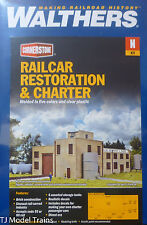 Walthers N #933-3825 Railcar Restoration & Charter (Building Kit)