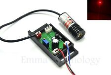 Red Dot Laser Stage Light 650nm 100mW Module Diode W/ Driver out 18x45mm 12V