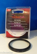 NEW! ROCKETFISH 52mm UV Lens Filter RF-UVF52