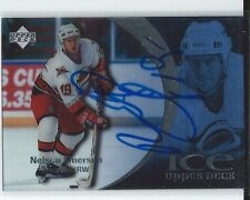 Nelson Emerson Signed 1997/98 Upper Deck Ice Card #1