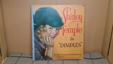 """Shirley Temple in """"Dimples"""" 1936 Book, #1760, Authorized Edition, Very Good"""