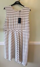 Elegant Striped Dress 22