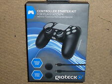 PLAYSTATION 4 PS4 CONTROLLER KIT USB DUAL CHARGER CABLE SILICON COVER BRAND NEW!
