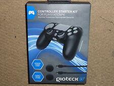 PLAYSTATION 4 PS4 Controller Kit Dual USB Cavo Caricabatteria silicio coperchio Nuovo di zecca!