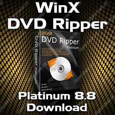 WinX DVD RIPPER PLATINUM 8.8 FULL EDITION 2018 SOFTWARE DOWNLOAD