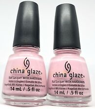 China Glaze Nail Polish Life is Beautiful 1337 Opaque Matte Bridal Pink Lacquer