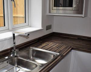 Bluster Block Zebra Kitchen Worktop 3000mm x 600mm x40mm