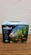 Penn Plax Air Pod Aquarium Air Pump  For 10 Gallon Aquarium New
