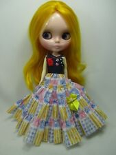 Outfit Clothing costume Handcrafted dress for Blythe doll 99-10