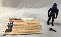 GI Joe 1984 Cobra Commander V2 Mail In 100% Complete w/ File Card Hasbro ARAH