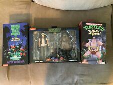 NECA TMNT Teenage Mutant Ninja Turtles Casey Jones Raphael, Orang, Shredder Lot