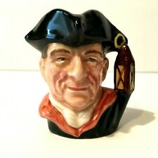 "Royal Doulton Toby Character Jug From Williamsburg ""Night Watchman"" D 6583 1962"