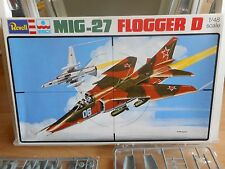 Modelkit Revell Mig-27 Flogger D on 1:48 in Box