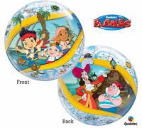 Jake and the Neverland Pirates Bubble Plastic Balloon Birthday Decoration