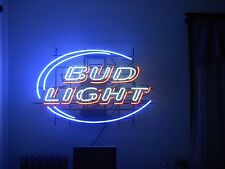 "New Budweiser Bud Light Beer Neon Sign 19""x15"" Ship From USA"