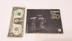 Canon T90 Camera - Booklet / Owners Manual