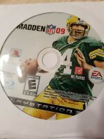 Madden NFL 09 - PS3 - Playstation 3 - Disc Only - Fast Free Shipping!