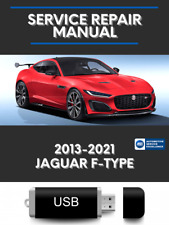 Jaguar F-Type 2013-2021 Factory Service Repair Oem Manual Usb f type ftype