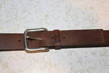 NEW ROPER LEATHER WESTERN COWBOY BELT SIZE 34