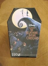 Ceaco Disney Nightmare Before Christmas Poster 550 Piece 18 x 24 Jigsaw Puzzle
