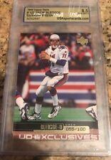 1999 Upper Deck Exclusives 055/100 DREW BLEDSOE New England Patriots USA MINT 9