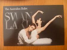 POSTCARD...THE AUSTRALIAN BALLET SWAN LAKE..BALLERINA & BALLERINO,..TY KING-WALL