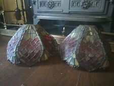 Vintage Tiffany Style Wall Light Shades  Multi Color  Stained Glass wall Sconce