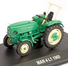 MAN 4 L1 - 1960 Traktor Schlepper grün green 1:43