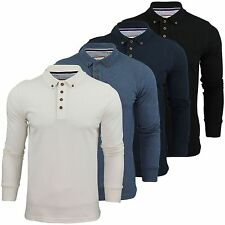 Brave Soul Long Sleeve Polo Casual Shirts for Men