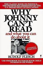 NEW Why Johnny Can't Read: And What You Can Do about It by Rudolf Flesch