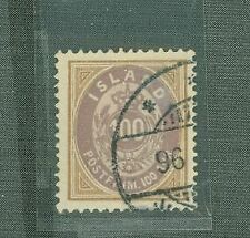 Iceland 1882-1888 Coat of Arms Scott #20